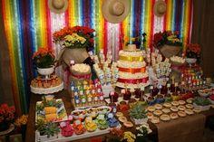 Ideia decoração festa junina... Da Net