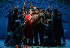 AMELIE, A NEW MUSICAL, is currently in previews and will officially open atthe Walter Kerr Theatre (219 W 48th Street) on April 3, 2017. BroadwayWorld has a whimsical first look at the cast in action below!