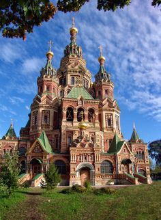 Peter and Paul Cathedral in St. Petersburg, Russia
