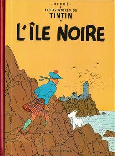 Tintin, L'île noire de Hergé /// Une de mes 5 histoires préférées du plus célèbre des reporters. Une enquête dans un cadre somme toute très classique (en dehors de l'île), pas à l'autre bout du monde et avec l'un de ses meilleurs ennemis.