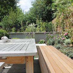 Summer Orchard Garden in Dulwich with canopies of the fruit trees and flowers designed by Sarah Hammond Kitchen Extension Inspiration, Family Garden, Contemporary Garden, Fruit Trees, Flower Designs, Canopy, Townhouse, Garden Design, Backyard