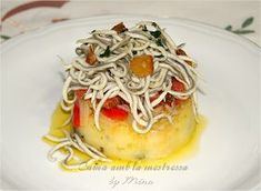 Tostadas, Pesto, Spaghetti, Menu, Ethnic Recipes, Food, Bar, Gastronomia, Gourmet