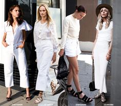 How to Wear Summer White