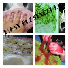 Masy plastyczne na 32 sposoby Glenn Doman, Coconut Flakes, Slime, Fun, Play, Porcelain, Funny, Hilarious