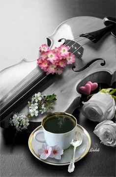Loving Coffee and Music Brown Coffee, I Love Coffee, Coffee Break, My Coffee, Morning Coffee, Chocolates, Martini, Tea Sandwiches, Coffee Cafe