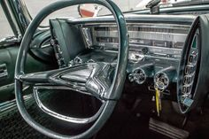 1962 Chrysler Imperial Retro Cars, Vintage Cars, Muscle Cars, Art Transportation, Dashboard Car, Car Brochure, Steering Wheels, Chrysler Imperial, Cars Usa