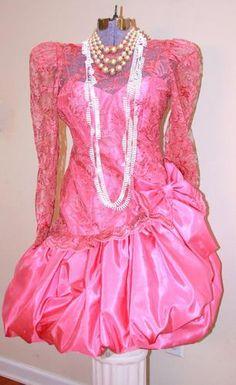 Vintage 80's Prom Dress~= #BCBGeneration #StyleHaul #PromWeek2013