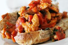 Skinny Italian Sausage Sub recipe with Mini Babybel Light cheese