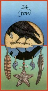 """Crow... Are you """"cawing,"""" So I may know, The secrets of balance, Within my soul? Or are you sending, Your sacred """"caw"""" Just to remind me, Of universal laws? (LAW)"""
