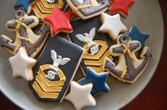 Navy Chief Petty Officer Cookie Platter