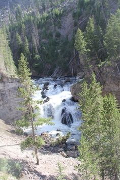 Firehole Falls, Yellowstone National Park, Wyoming. Photo by Jeannine Mantooth