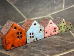 Lucky nr 5...Rustic Miniature Houses for Moss Terrariums or Pot Gardens