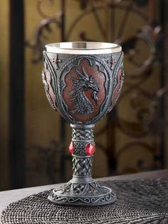 Royal Dragon Goblet #home #tableware www.loveitsomuch.com