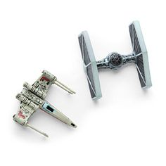 This set of two magnets, shaped like an X-wing and a TIE Fighter, geek out whatever surface you put them on - your fridge, your locker, the Starkiller Base along with that thermal detonator.... The sky's the limit!