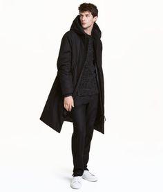 Black winter jacket H&M