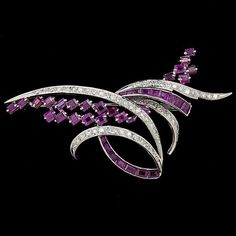 Diamond and Ruby Bro beauty bling jewelry fashion