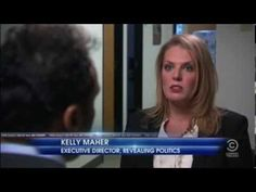 """Kelly Maher blasts """"Brosurance"""" ads on The Daily Show"""