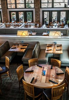 The newly redesigned dining room at Ray's on the Creek...classic, casual, coastal.