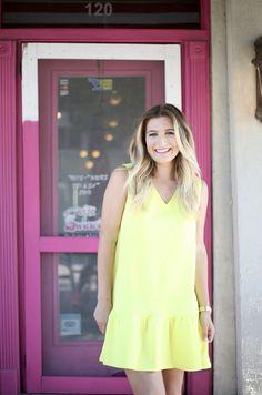 Sunshine Dress + NSale   AMS Blog