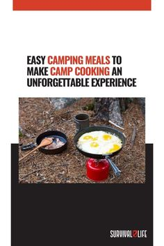 Every outdoors enthusiast needs to have a list of easy camping meals you can make in the outdoors. What are your all-time favorite camping meals? Let us know in the comment section below! #CampingMeals #CampCooking #CampExperience