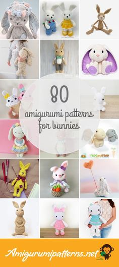 Amigurumipatterns.net has the largest collection of free and premium Bunnies amigurumi patterns. Click now and discover wonderful crochet patterns! Page 2 of results.