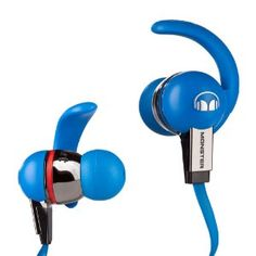 WOW......$59.99 ....save 67% Amazon  : Monster iSport Immersion In-Ear Headphones with ControlTalk- Blue: Electronics