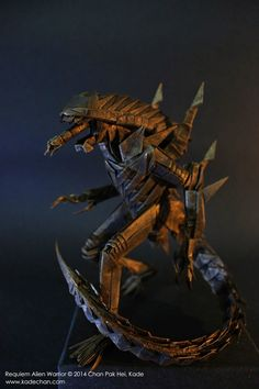 Alien Warrior by Kade Chan