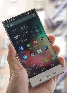 The Aquos Crystal is Sharp's first Android-powered smartphone in the U.S. Not only is it refreshingly futuristic-looking, but it's also dirt-cheap for a no-contract smartphone.