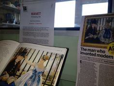 The new Manet display at Rochester Library celebrates the first UK exhibition devoted to his portraiture, 'Manet portraying life' (26 January-14 April), at the Royal Academy of Arts.  #Rochester