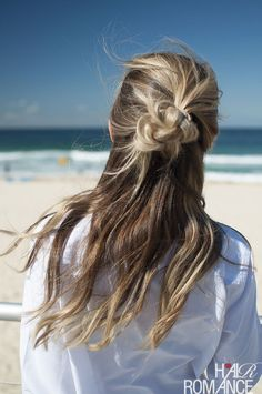 Long Hair Womens Styles : Half top knots  your new favourite hairstyle