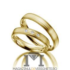 verighete de aur MDV1101 #verighete #verighete3mm #verigheteaur #verigheteaurgalben #magazinuldeverighete Aur, 50 Euro, Bangles, Bracelets, Jewelry, Crystal, Diamond, Jewellery Making, Jewels