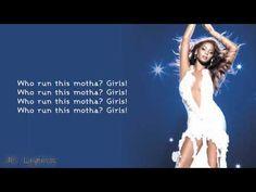 Girls truly do run it! Beyonce - Run The World Lyrics HD
