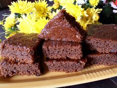 Negresa de post cu merisoare Meatloaf, Deserts, Good Food, Food And Drink, Ale, Sweets, Sugar, Recipes, Food
