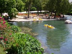San Marcos, TX has such beautiful water and I love the glass bottom boat at Aquarena Springs.