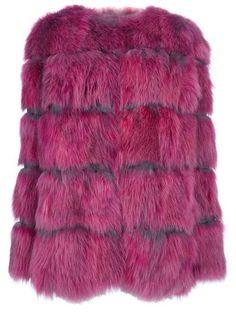 moschino cheap & chic faux fur