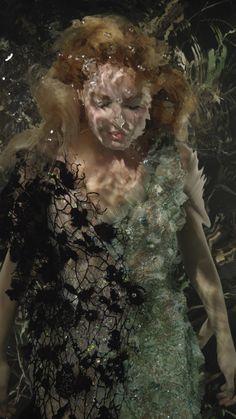 Margot Robbie Shot by Bill Viola - Actress Margot Robbie Goes Underwater for Artist Bill Viola   W Magazine
