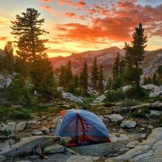 Well, that's a camping view you could settle into.