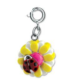 Shop CHARM IT! - Ladybug Daisy, $6.00 (http://www.shopcharm-it.com/charms/peace-earth/ladybug-daisy/)