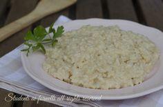risotto ai formaggi cremoso ricetta primo gustoso con riso asiago emmental parmigiano