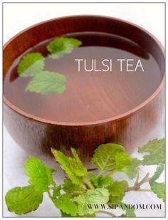 """tulsi tea"" ""health benefits of tulsi tea"" ""herbs that make you feel calm and relaxed"""