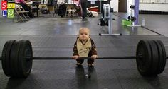Check out all our Baby Bodybuilder funny pictures here on our site. We update our Baby Bodybuilder funny pictures daily! Gym Humor, Workout Humor, Crossfit Humor, Funny Workout, Workout Shirts, Bodybuilder, Funny Babies, Funny Kids, Funny Gym