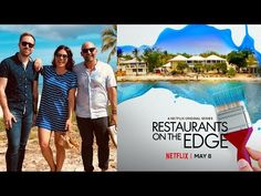 Restaurants on the Edge Season 2 Netflix Trailers, Interior Design Videos, Out Of Your Mind, Burning Questions, Passion Project, Official Trailer, Office Interiors, Beach Themes, Digital Media