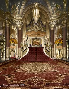 Fox Theater, San Francisco 1929...OMG, I'm in awe!