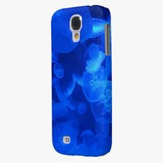 It's cute! This Blue Jellyfish Samsung Galaxy S4 Case is completely customizable and ready to be personalized or purchased as is. Click and check it out!