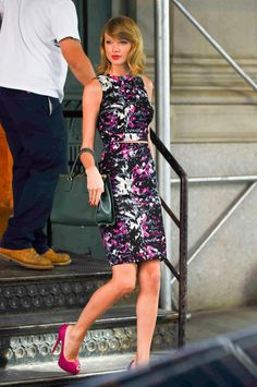 Taylor Swift's Found the Easiest Way to Get Dressed in the Morning