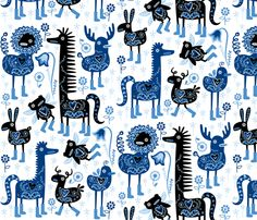 spoonflower: a website where you can design, upload and order your own fabric designs