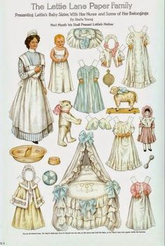 Lettie Lane Paper Family | Gabi's Paper Dolls* For lots of free paper dolls…