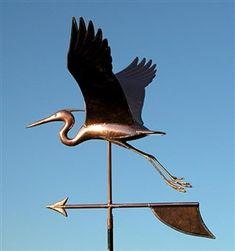 Large Heron Weathervane