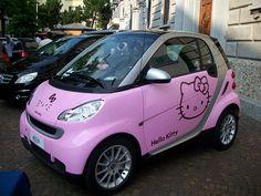 hello kitty smart car