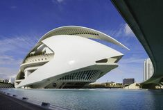Valencia Opera House by Santiago Calatrava   Valencia/Spain